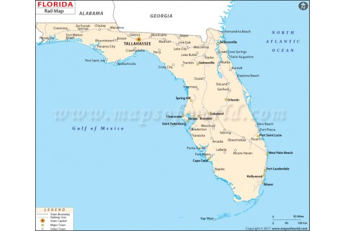 Florida Rail Map