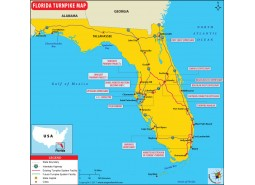 Florida Turnpike Map