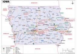 Map of Iowa - Digital File
