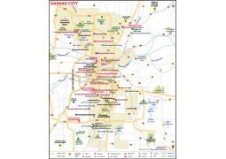 Kansas City Map - Digital File