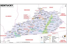 Reference Map of Kentucky - Digital File