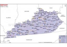 Kentucky Road Map