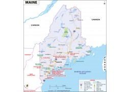 Map of Maine - Digital File