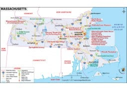 Reference Map of Massachusetts - Digital File