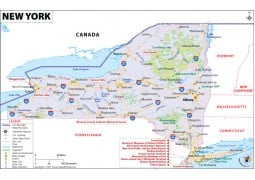 New York Map - Digital File