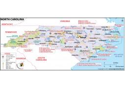 North Carolina Map - Digital File