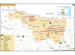 North Texas Map