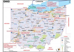 Ohio Map - Digital File