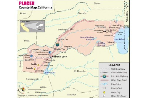 Placer County Map – Best Cars 2018