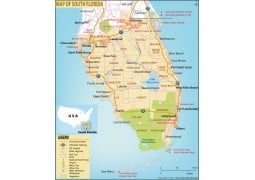 Map of South Florida