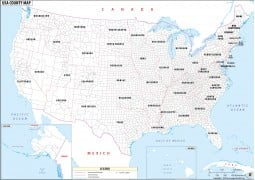 Buy World and USA Maps online