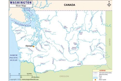 Washington River Map