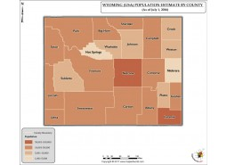 Wyoming Population Estimate By County 2016 Map