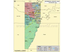 Jefferson County Map, Colorado - Digital File