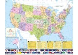 USA Country Map