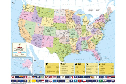 World's Best US Map