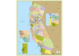 California Zip Code Map With Counties