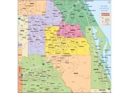 Central Florida Zip Code Map