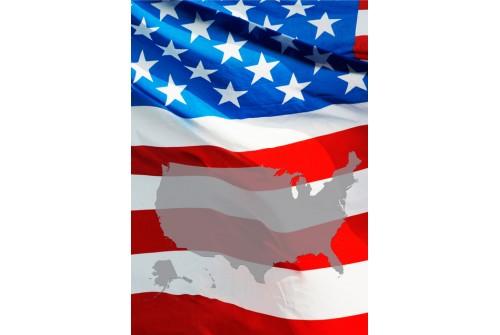 US Flag Poster
