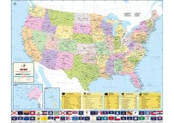 World's Best US Map - Vinyl
