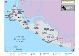 Monrovia City Map - Digital File