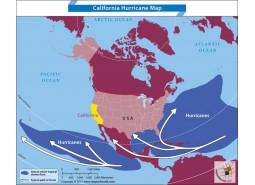 California Hurricane Map