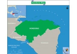 Map of Honduras - Digital File