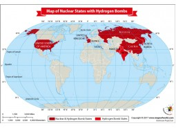Map of Nuclear States With Hydrogen Bombs