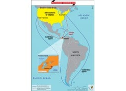 Panama Canal Connectivity Map