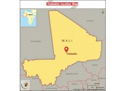 Timbuktu Location Map