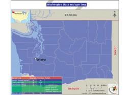 Washington State and Gun Laws Map