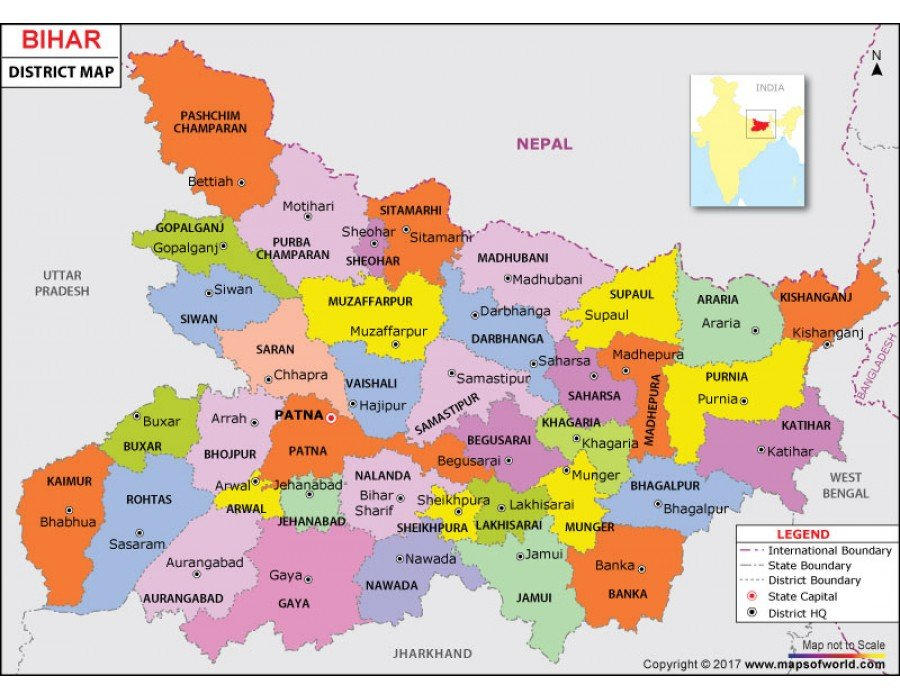 Buy Bihar Map on map of uttar pradesh district, map of bharatpur district, map of shimoga district, map of aurangabad district, map of pune district, map of lalitpur district, map of chhattisgarh district, map of kolhapur district, map of kottayam district, map of rajasthan district, map of guntur district, map of jamnagar district, map of darjeeling district, map of uttarakhand district, map of jehanabad district, map of thrissur district, map of thane district, map of bhojpur district, map of manipur district, map of ranchi district,