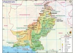 Pakistan Map - Digital File