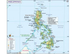 Philippines Map - Digital File