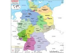 Political Map ofGermany