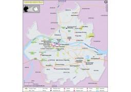 Regensburg Map, Germany - Digital File