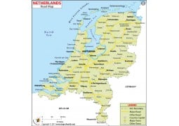 Netherlands Road Map