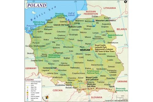 Poland Map
