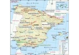 Spain Map - Digital File