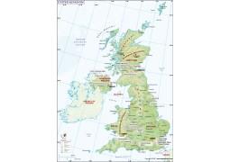 UK (United Kingdom) Map - Digital File
