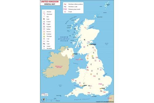 UK Minerals Map