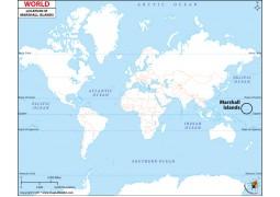 Marshall Islands Location Map
