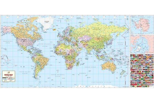Buy large world map world map with countries large world map gumiabroncs Gallery