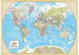 World Major Cities Map - Digital File