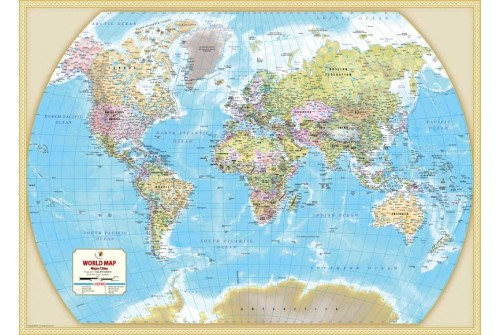 Buy world map map of major cities of the world world map with major cities gumiabroncs Choice Image