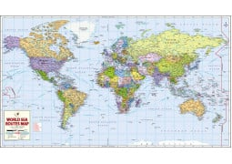 List of countries of the world continents world map with countries world sea routes map gumiabroncs Gallery