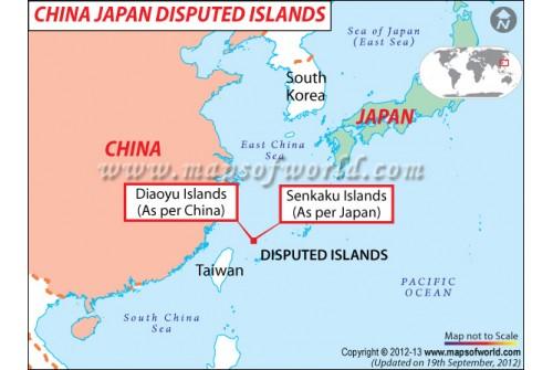 China Japan Disputed Islands