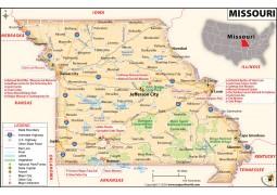 Reference Map of Missouri - Digital File