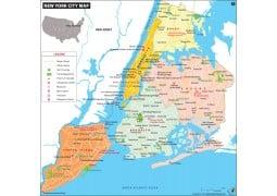 New York City (NYC) Map