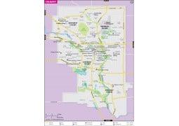 Calgary Map - Digital File